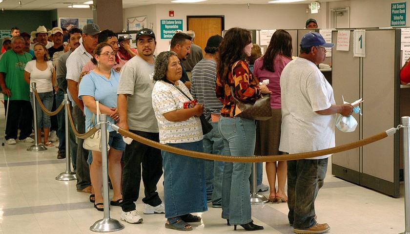 Unemployment line