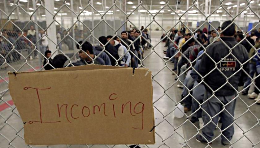 Illegal Alien Detention center