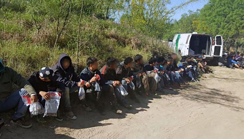 Border Patrol arrest illegal aliens
