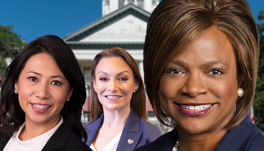 Stephanie Murphy, Nikki Fried and Val Demings