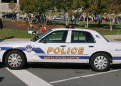 U.S. Capitol Police car
