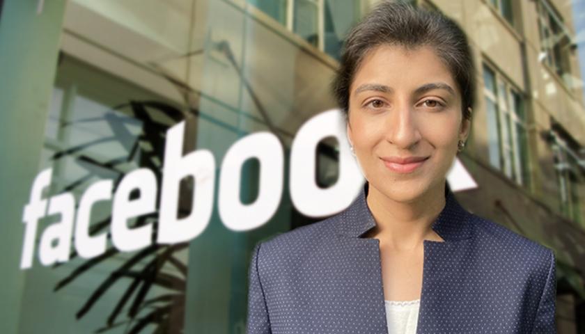 Lina Khan Facebook Headquarters