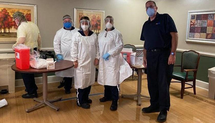Staff if Florida Health Department